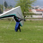 Kurt landing